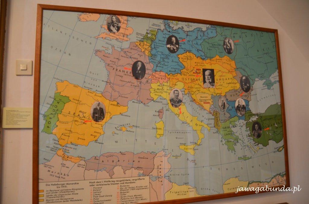 mapa z władcami