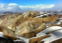 kolorowe góry