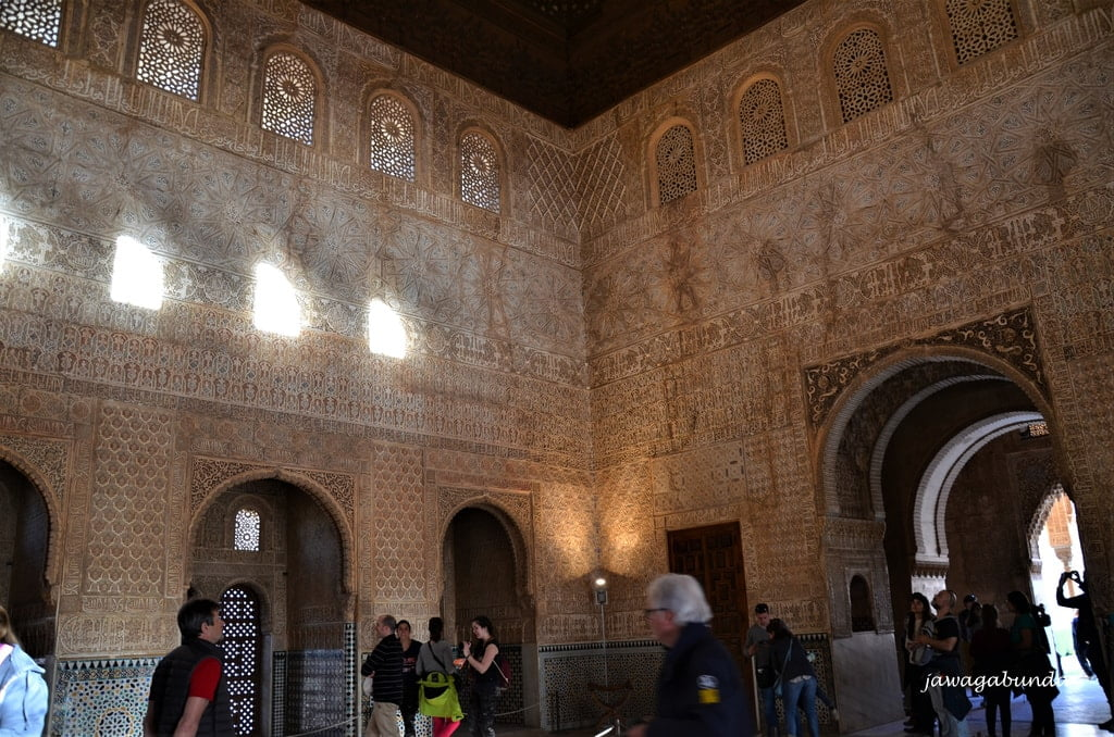 wnętrze Pałacu Nasrydów