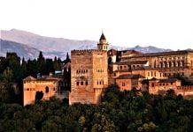 Alhambra zamek w Hiszpani