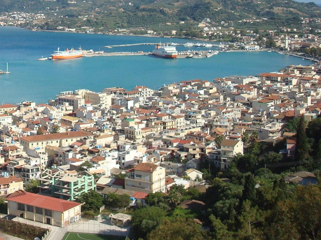 miasto położone nad morzem