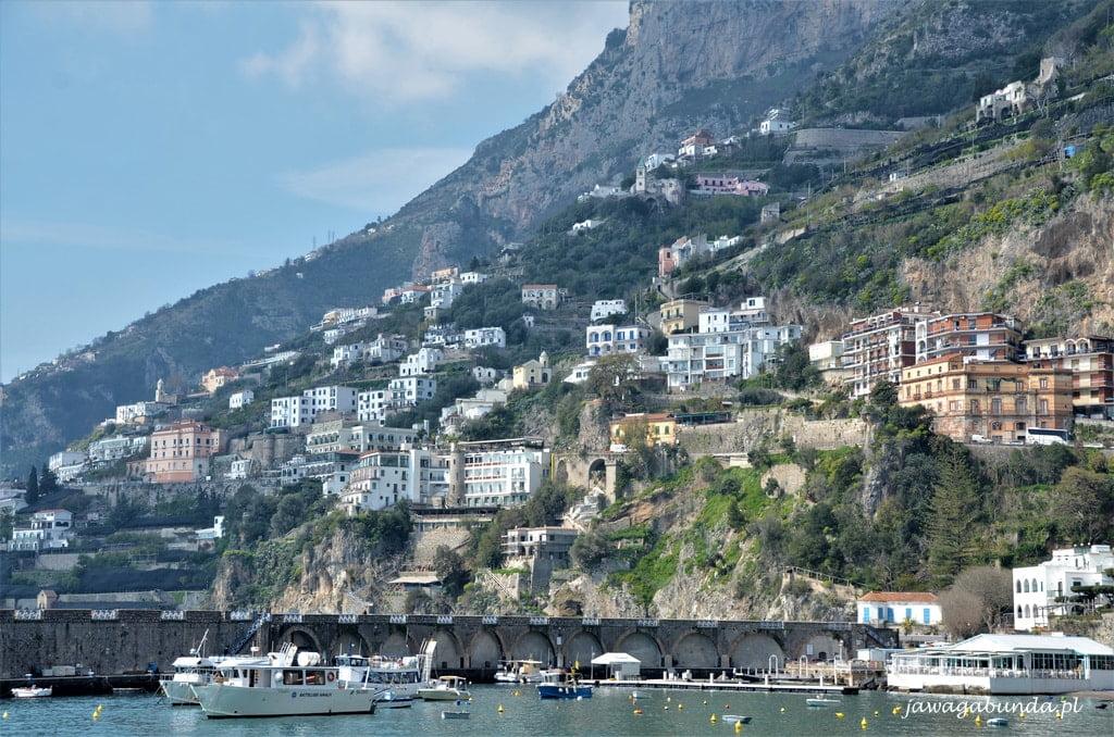 kolorowe domy Amalfi