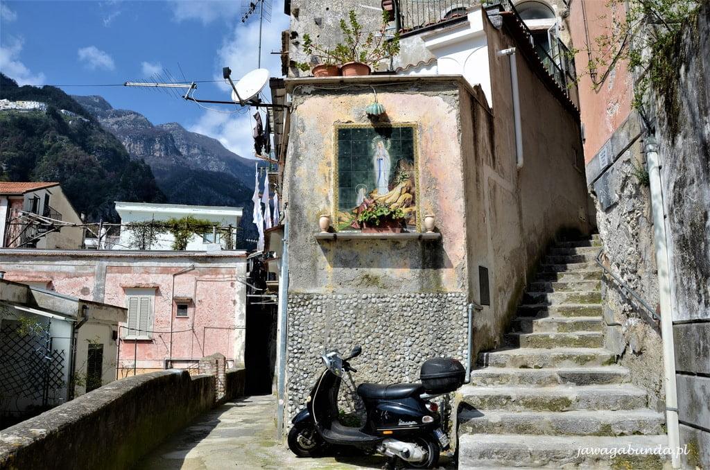 uliczki w Amalfi