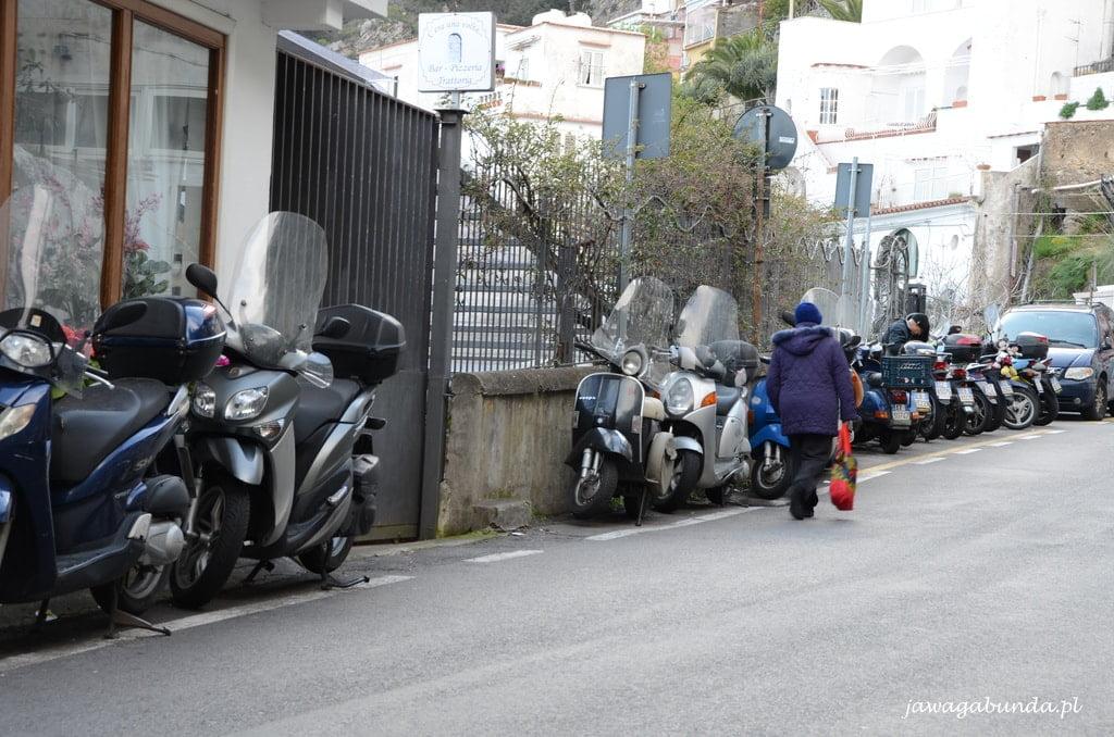 droga wybrzeże Amalfi