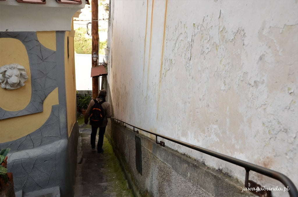 uliczka w Positano