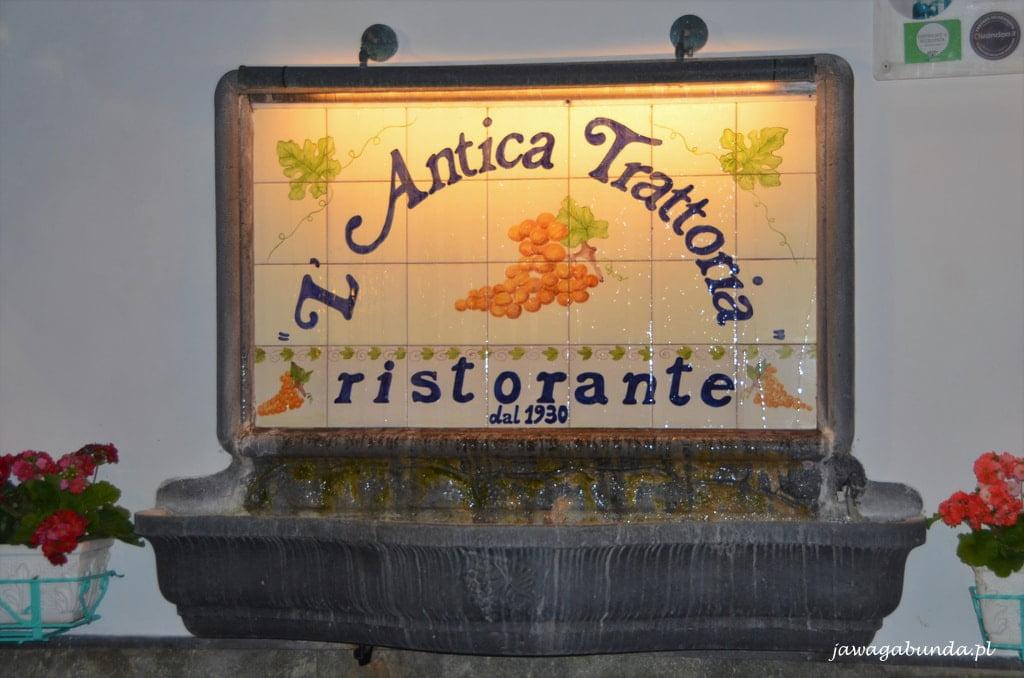 restauracj w Sorrento