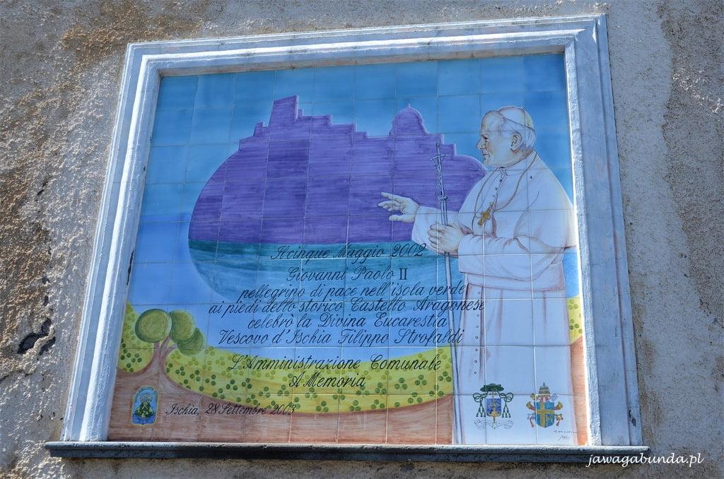 Obraz z papież Jan Paweł IIem