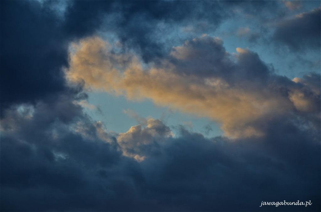 zachód słońca na Ischi