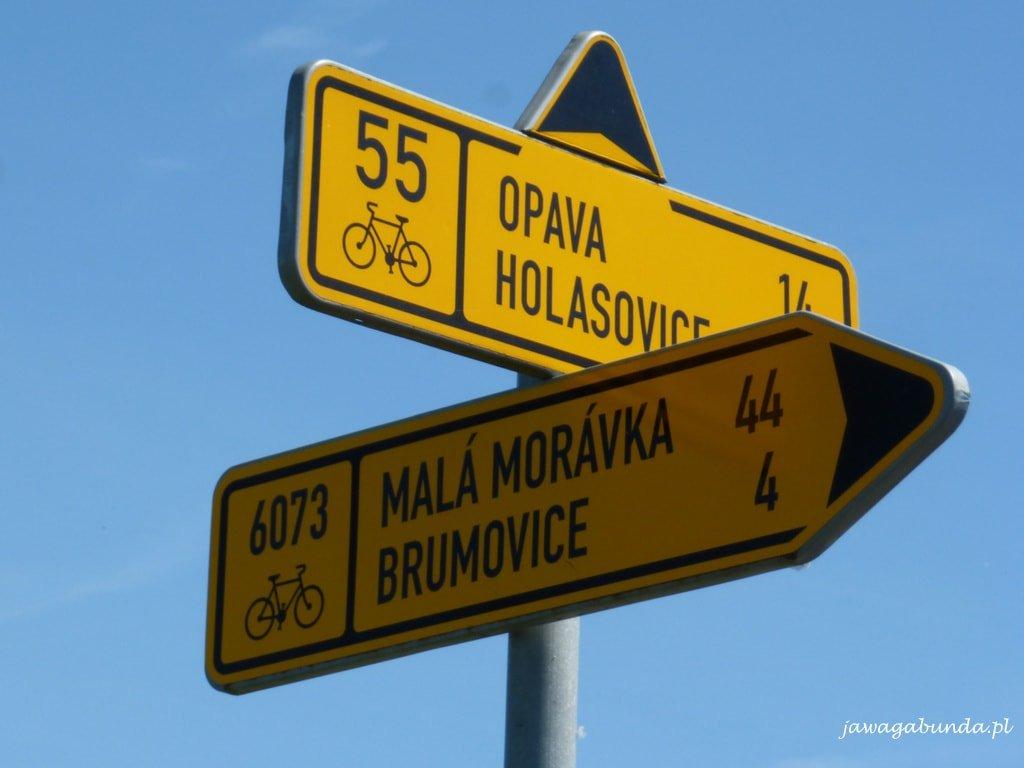 Trasa rowerowa 55 Krnov - Opawa