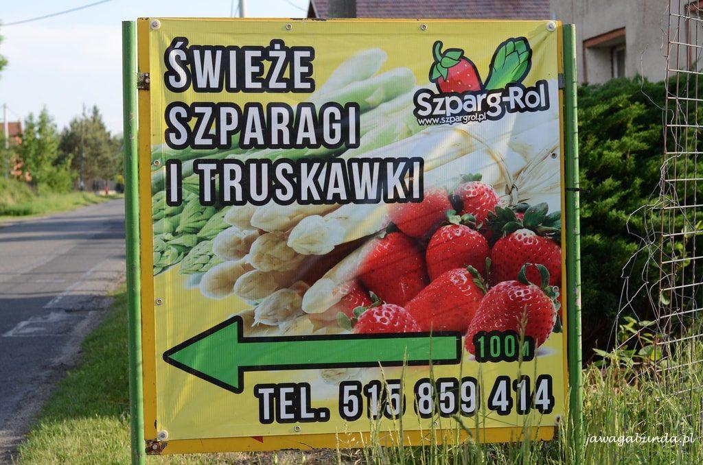 Szparagi najlepiej kupować prosto od rolnika.