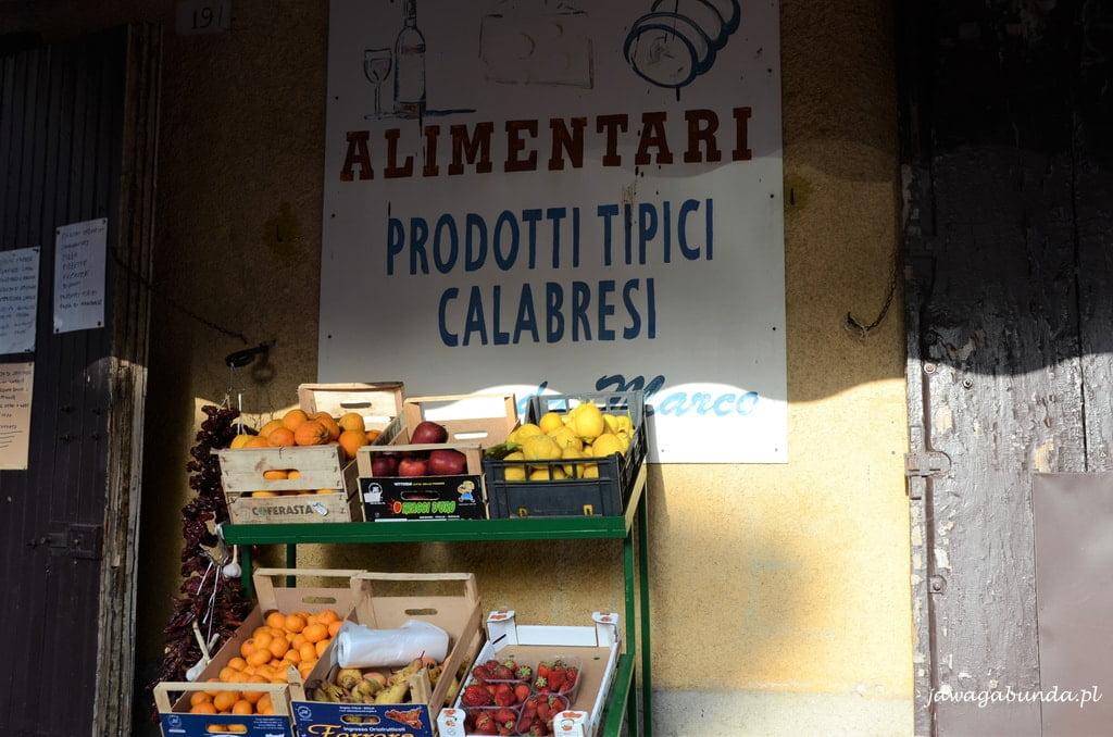 lokalny sklepik Kalabria