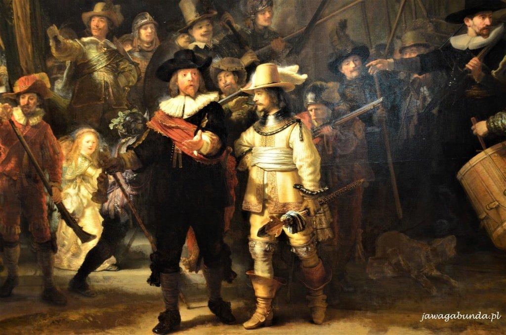 muzeum narodowe Amsterdam obraz