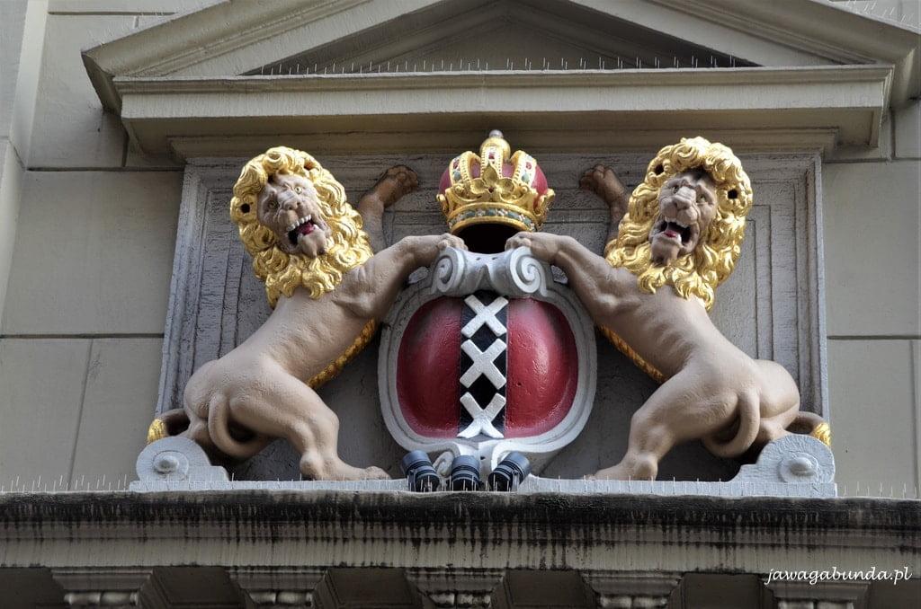 Amsterdam symbol miasta