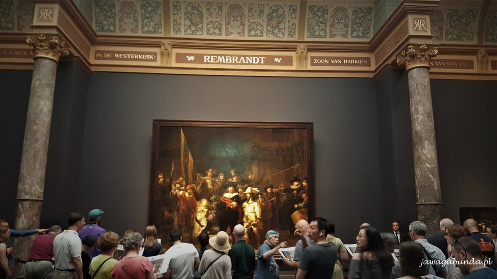 Rembrandt Muzeum Narodowe Amsterdam