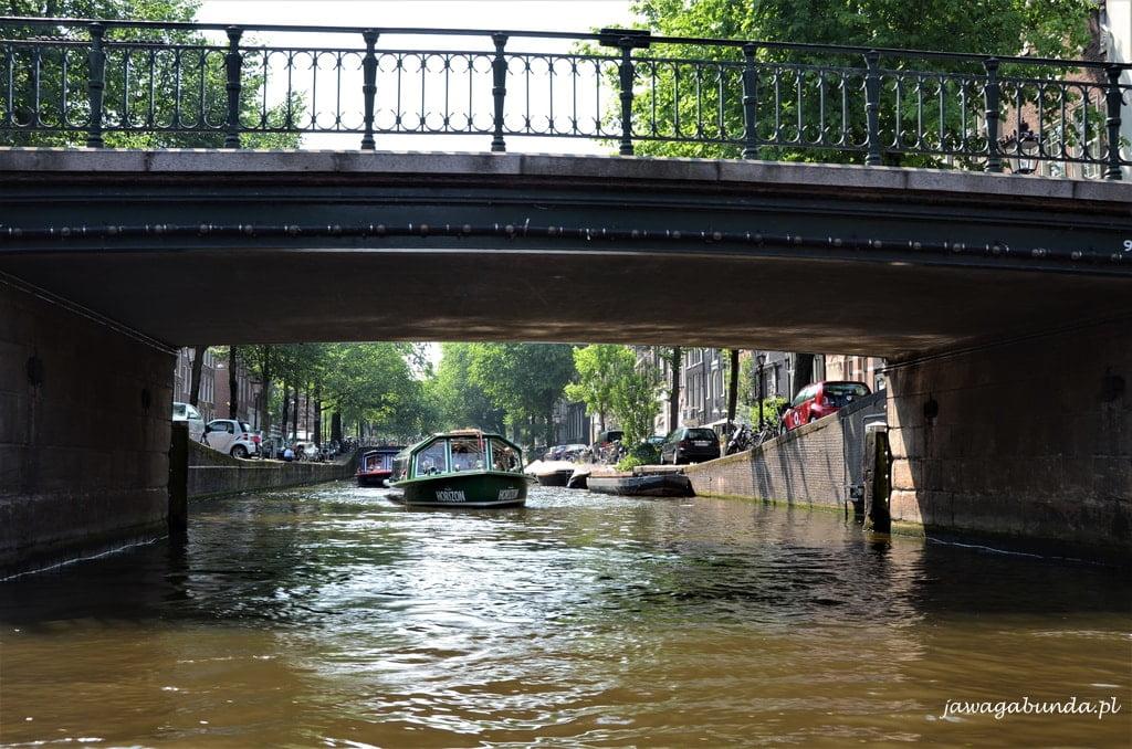 Amsterdam kanały, rowery