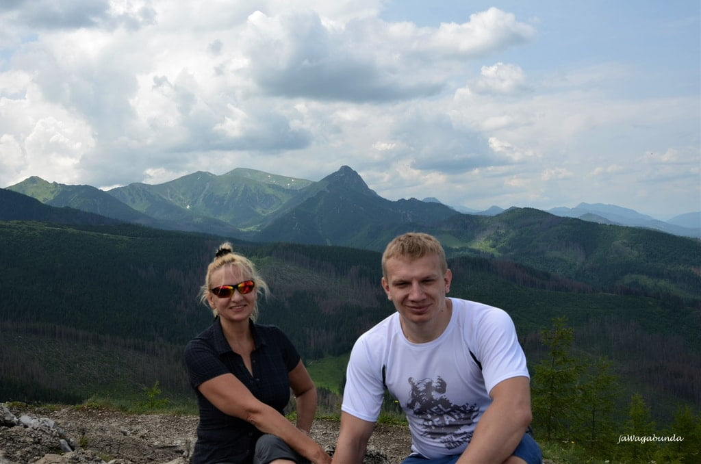 Kobieta i mężczyzna w Tatrch