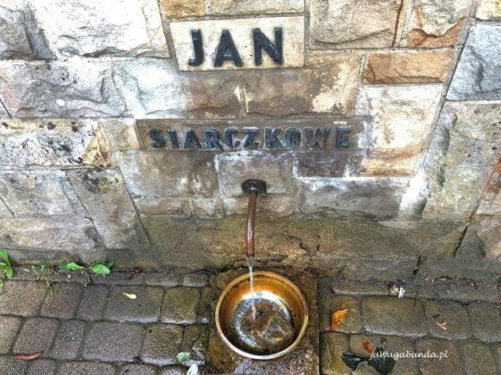 wody źródlane Rymanów Zdrój