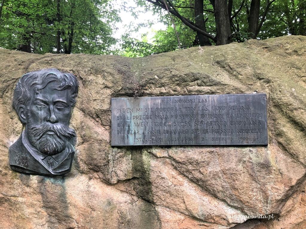 tablica ku pamięci Wyspiańskiego