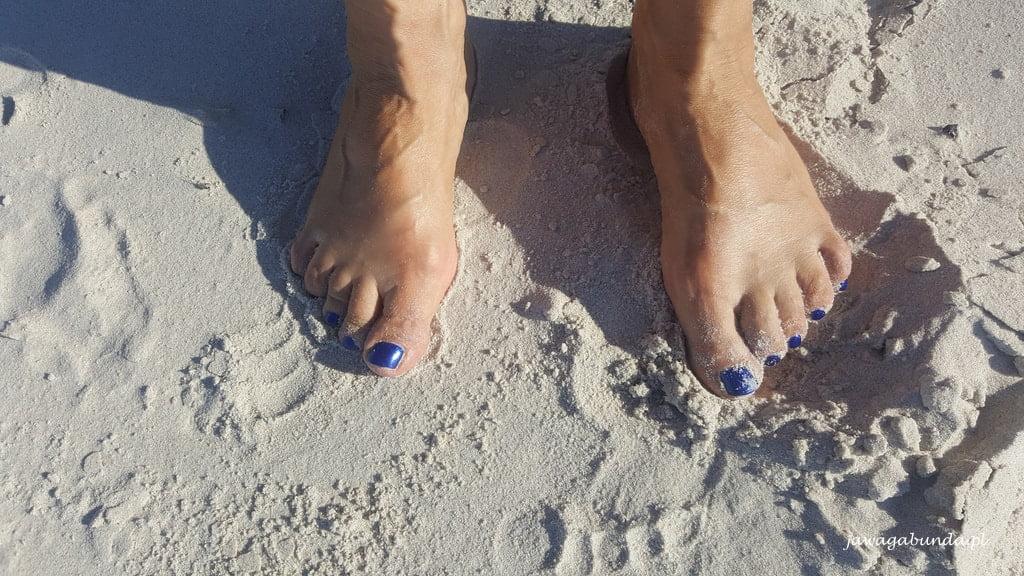 bose stopy na piachu