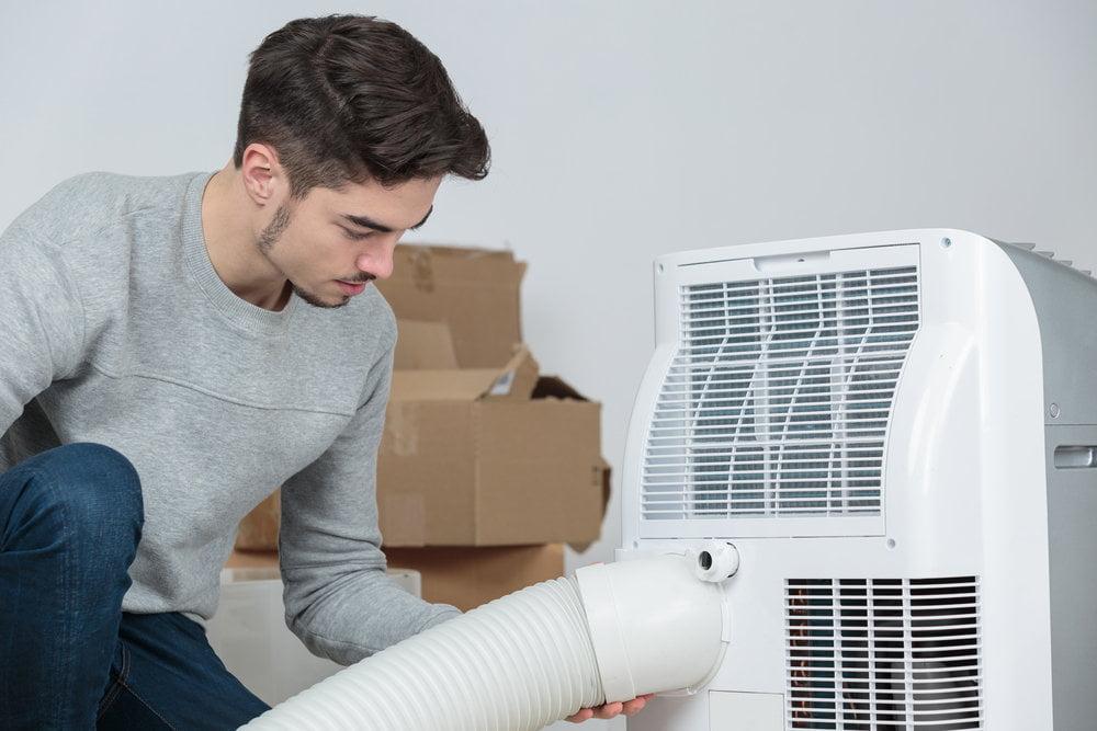 Klimatyzator to doskonały sposób na ochłodę.