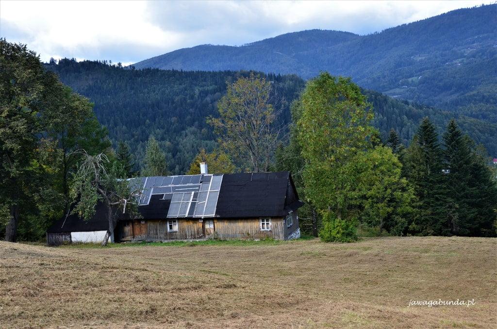 stara chata na stoku Skrzyczne