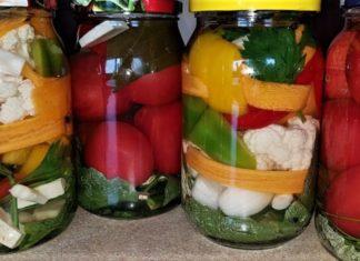 kiszone warzywa słój
