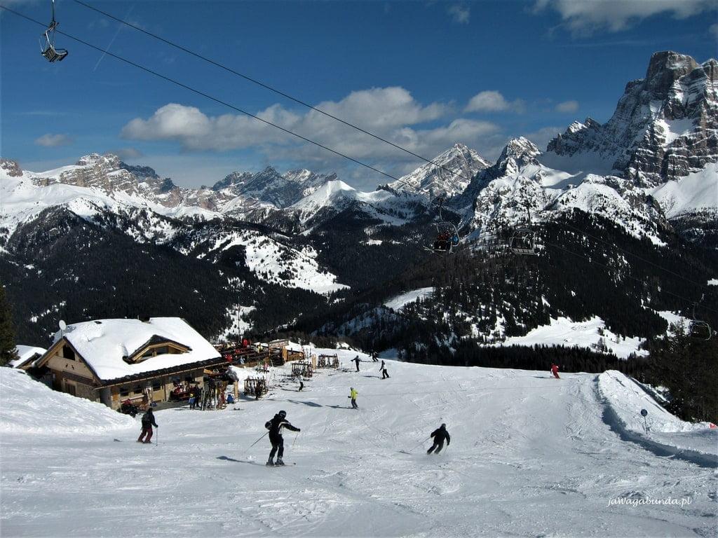 trasy narciarskie w Alleghe