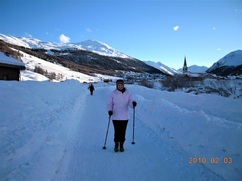 trasa spacerowa w Livigno
