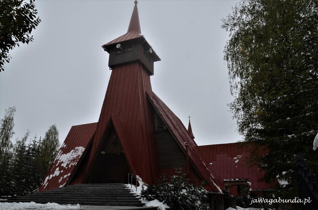 kościół w góralskiej wiosce