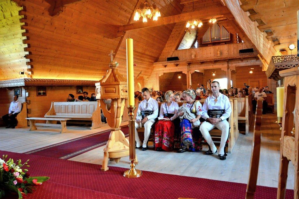 w góralskim kościele