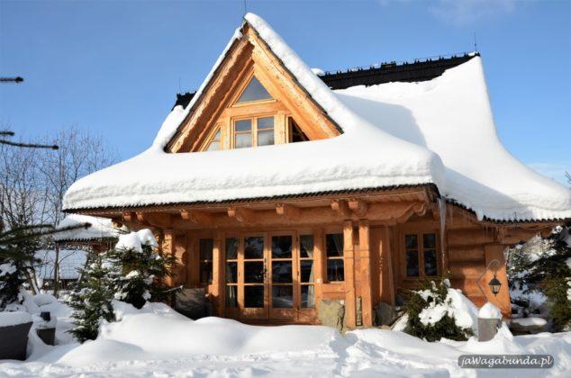 górska osada chata w górach