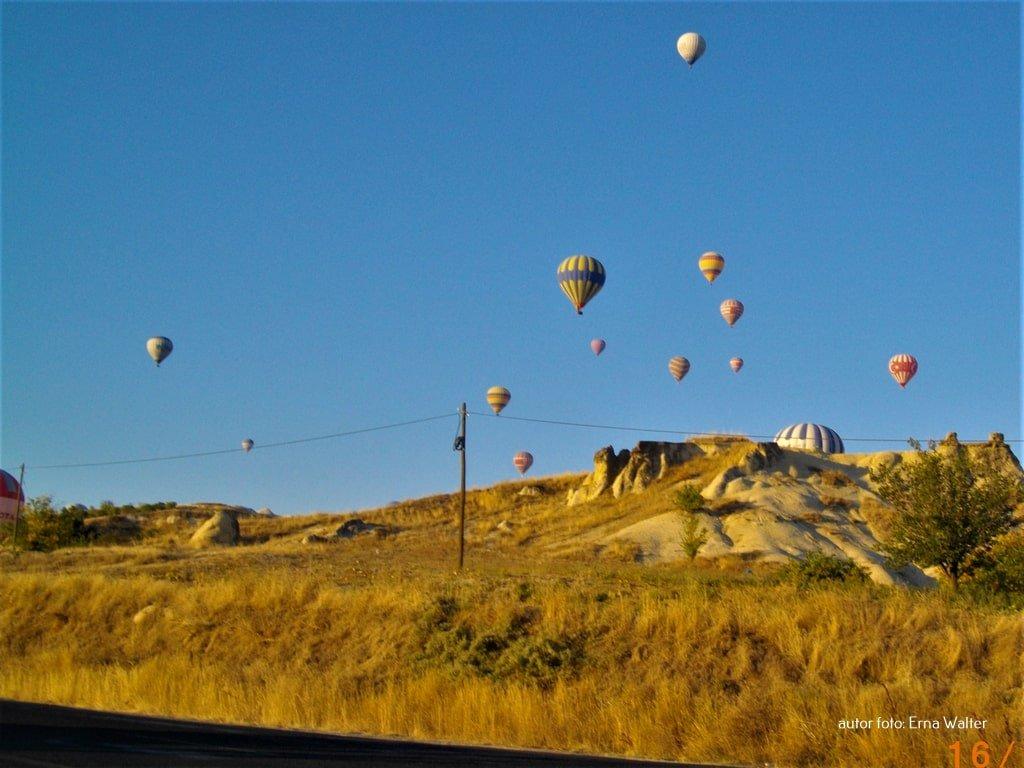 balony nad Kapadocją w Turcji