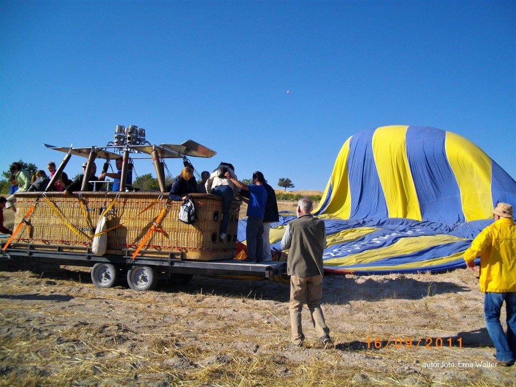 Turcja Kapadocja lot balonem