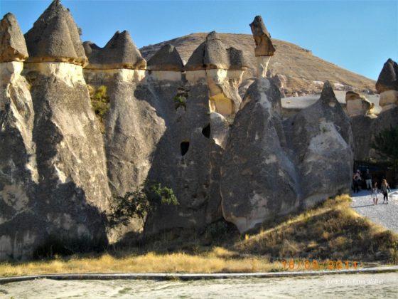 Turcja Kapadocja formy skalne