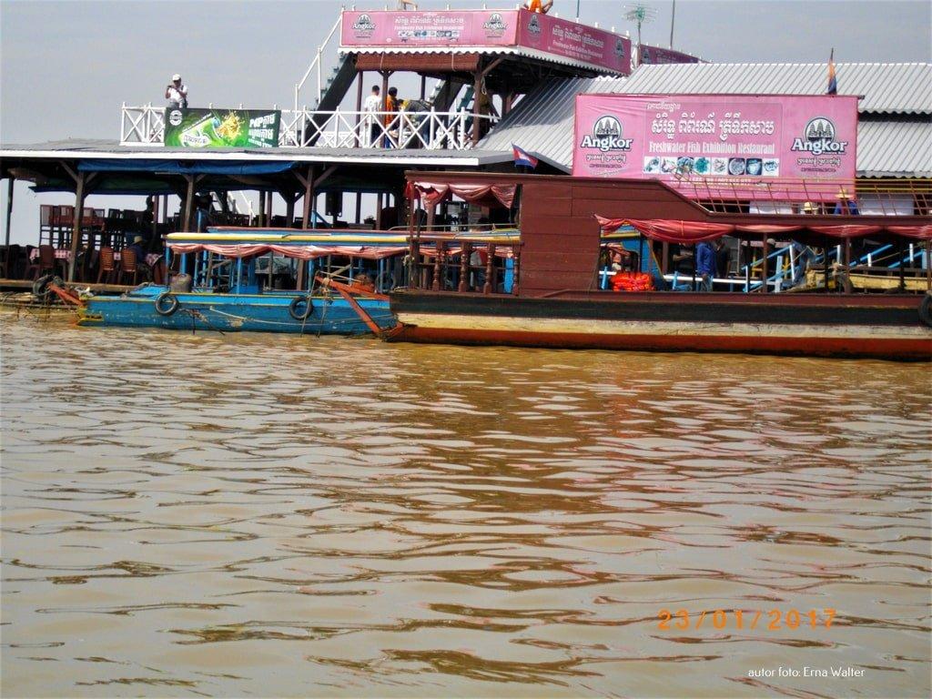 Kambodża pływające wioski