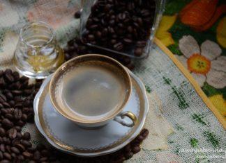 kawa w filiżance, kawa ziarnista