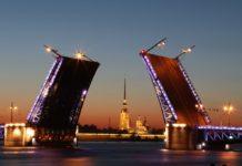 most podnoszony Sankt Petrsburg