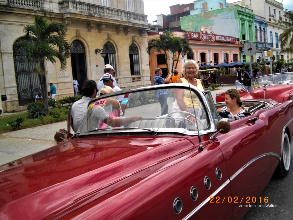 Kuba Cadillac samochód