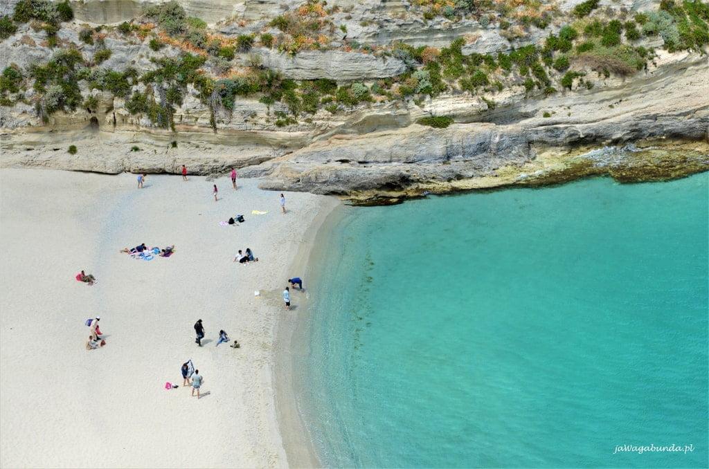 plaża w Tropea