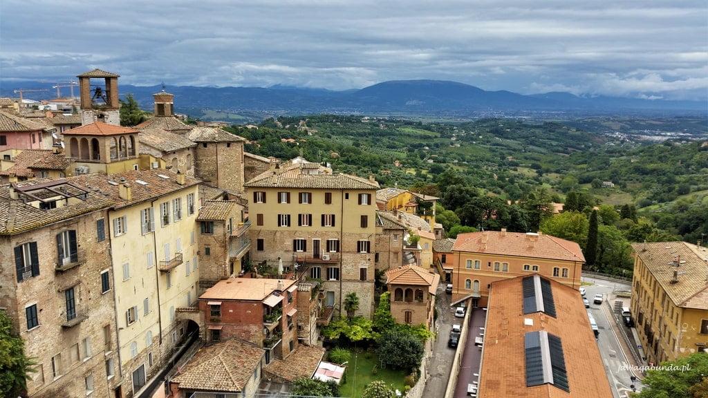 Toskania miasteczko domy