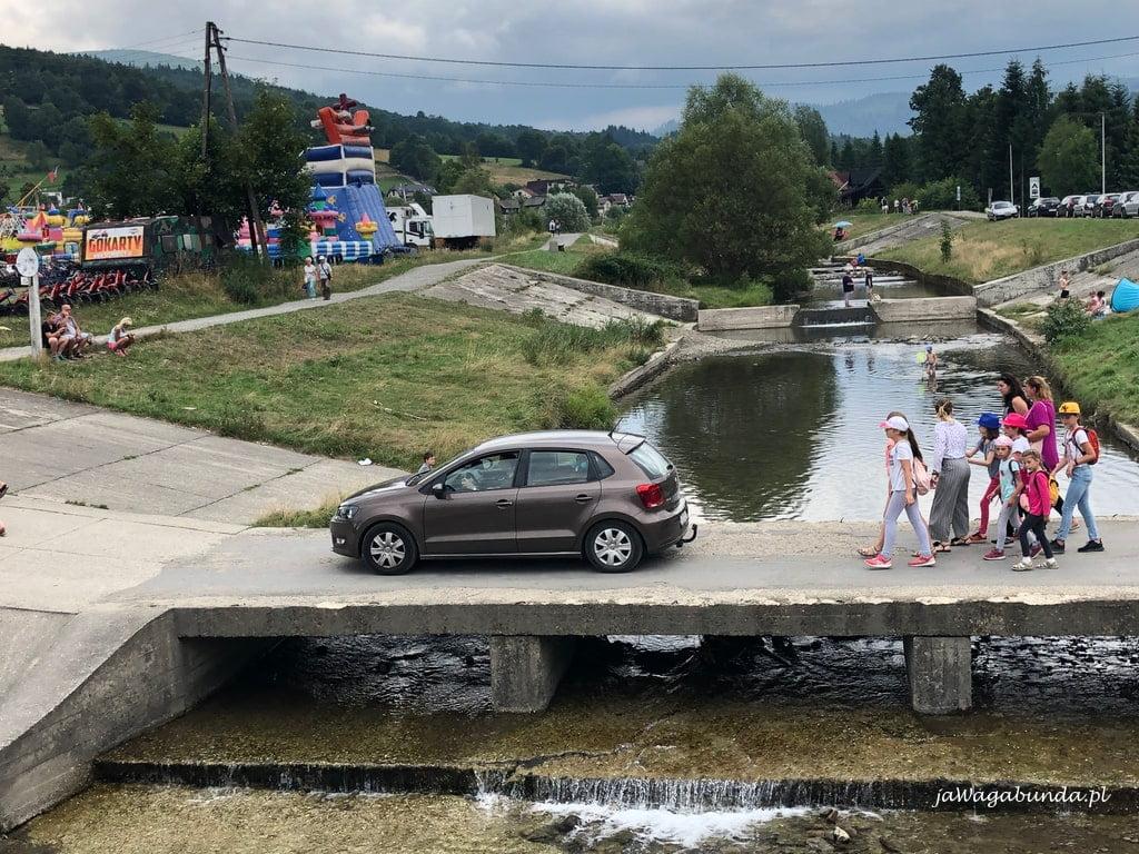 Most na małej rzeczce