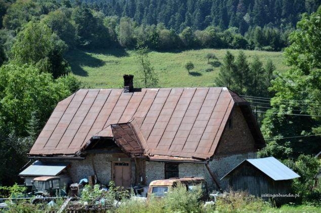 chata w Beskidzie Niskim