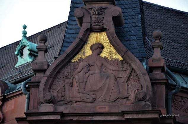 uliczki urokliwego Heidelbergu