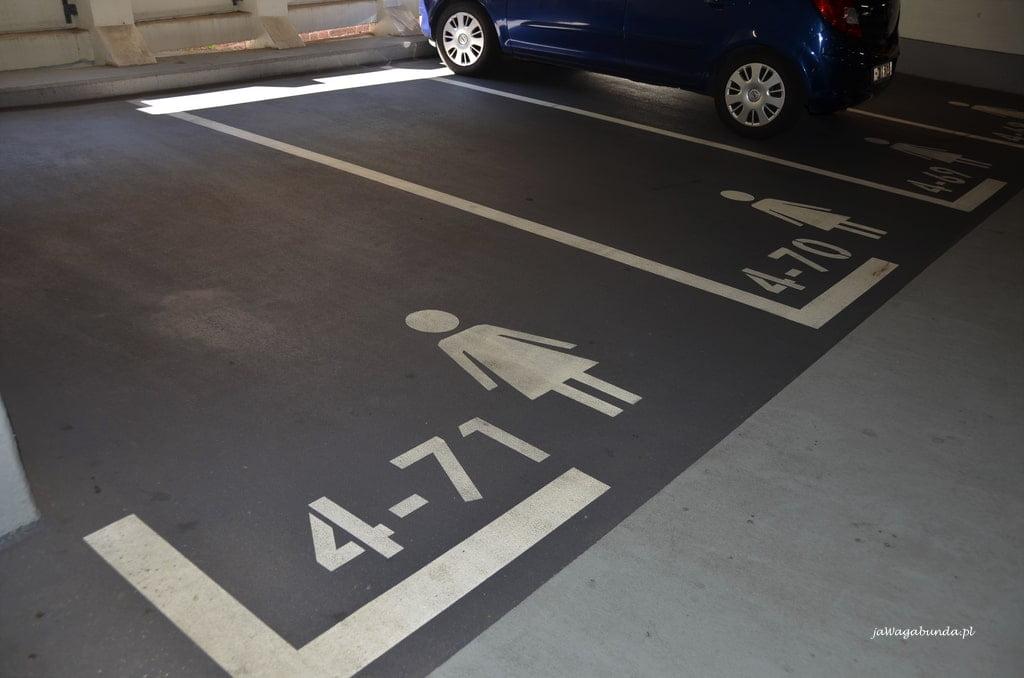 Miejsca na parkingu