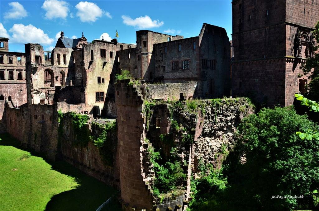 Ruiny zamku w Heidelbergu