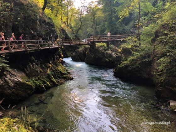 Kranjska Gora Słowenia wodsopad