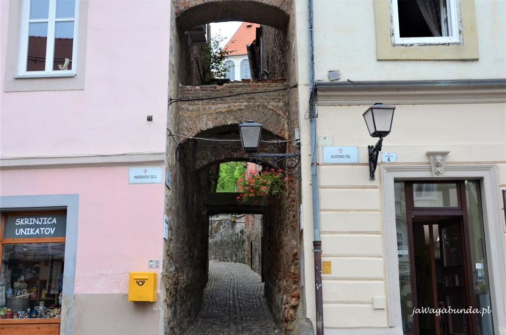 schody starym mieście Ptuj