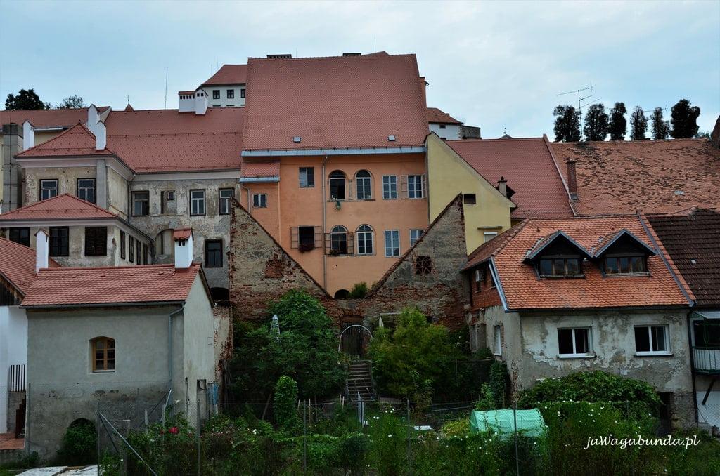 zamek w Ptuj i zabudowania