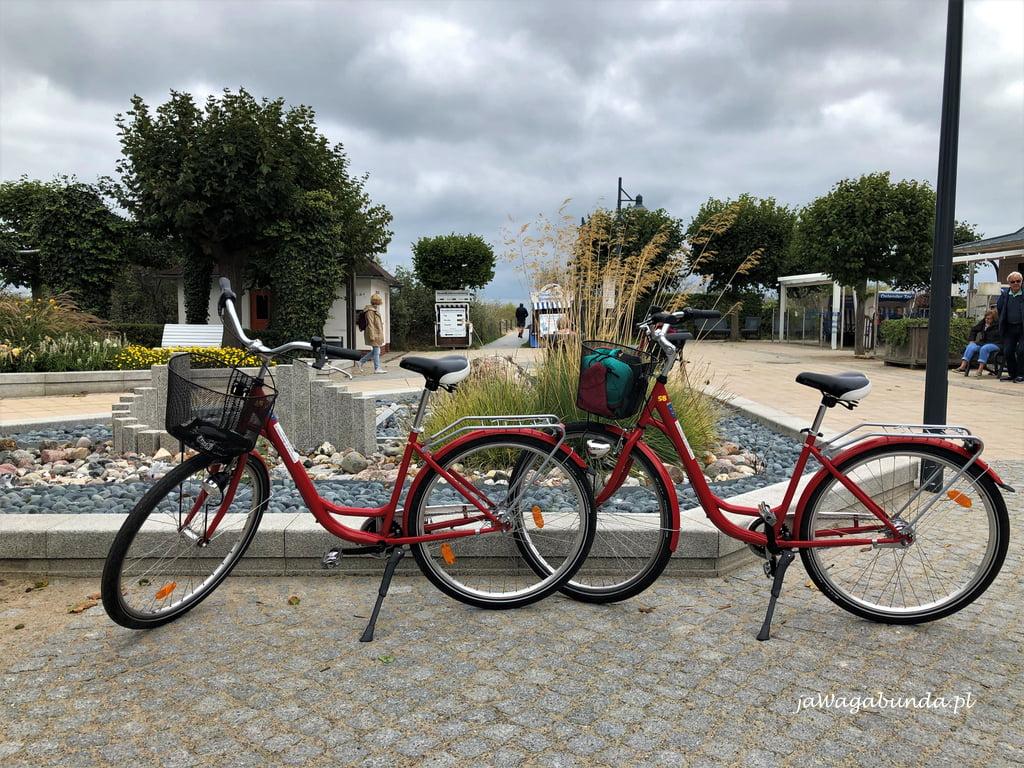 Świnoujście na rowerze