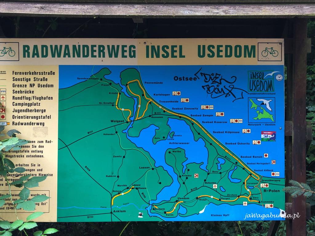 Trasy rowerowe po niemieckiej stronie